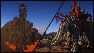 Mordor aus Herr der Ringe - Minecraft Megabuilds