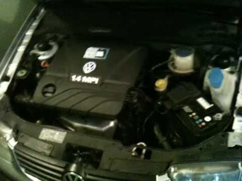 For Type 2 Vw Engine Wiring Diagram Vw Polo 1 4 Engine Sound Youtube