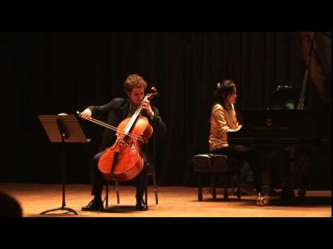 Nicholas Canellakis play Rachmaninoff Cello Sonata Live- 3rd Movement
