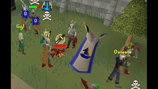 TBing & Killing PKers Looting in PVP!