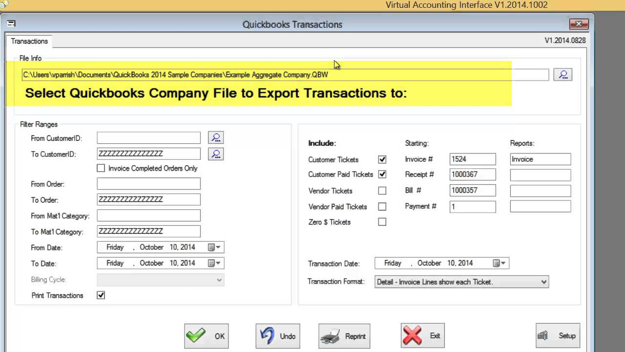 Truck Scale Ticketing with QuickBooks | SMSTurbo® Scale Software