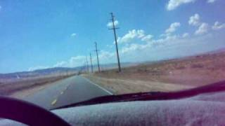 MUSICAL ROAD IN LANCASTER, CALIFORNIA