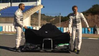 F1 W04 launch - Highlights