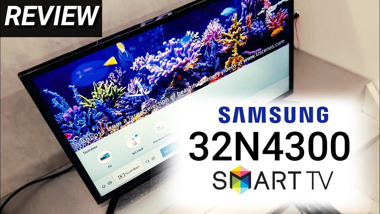Review Samsung 32n4300 Led Smart Tv Indonesia Hd Youtube