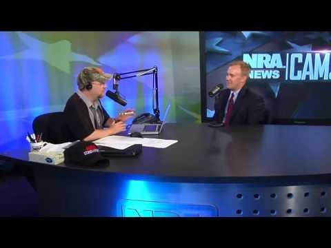 Jon Michael McGrath in studio on NRA