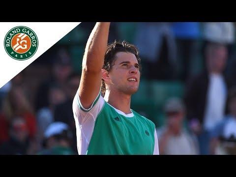 Dominic Thiem v Horacio Zeballos Highlights - Men's Round 4 2017 I Roland-Garros