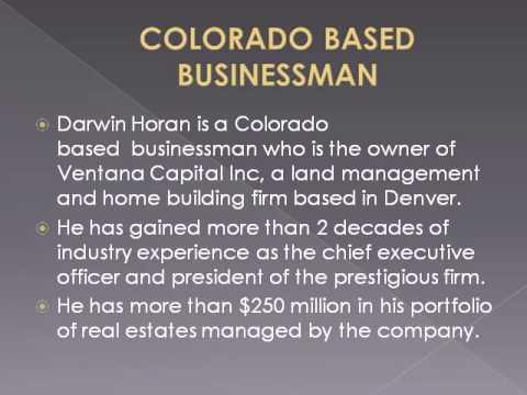 Real Estate investment focus on Darwin Horan