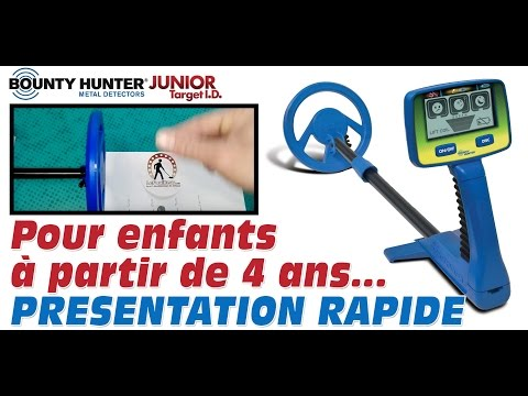 D/étecteur de m/étaux Bounty Hunter Junior T.i.d.