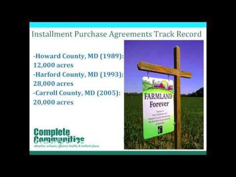 Rural Land Management Tools Installment Purchase Agreements Ipas
