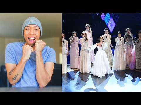 idina menzel, aurora - Into the Unknown (live from the 92nd academy awards) | reaction & review