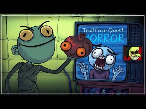 Troll Face Quest Horror Прохождение: Страшно смешно [Мобильные прохождения]