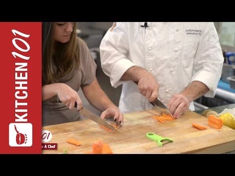 How To Chop Vegetables Like A Chef | Kitchen 101