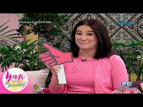 Yan Ang Morning!: Kris Aquino's opinion on hot topics