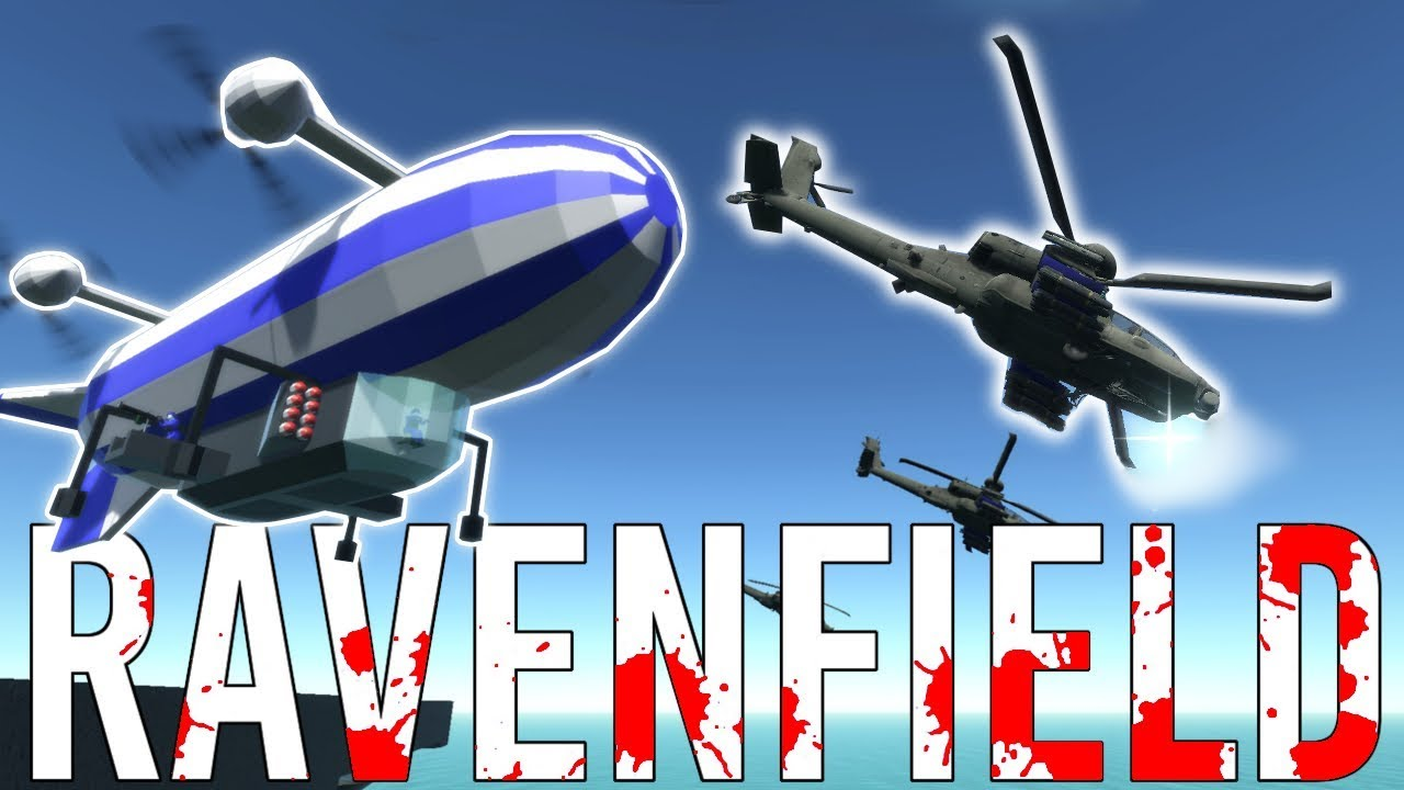 EMBRACE SOCIAL DARWINISM (AND APACHES) | Ravenfield Mods Gameplay