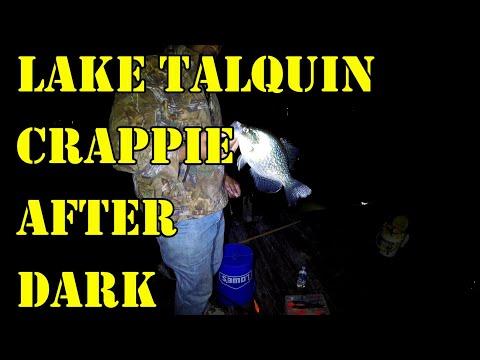 Crappie Night Dock Fishing - Eps22 (Lake Talquin)