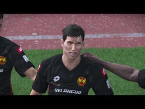 PES2017- Selangor vs Perak (PS4) - Msl2017