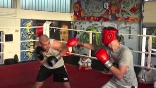 Boxsparring Teutonia 08 Lippstadt Juli 2013