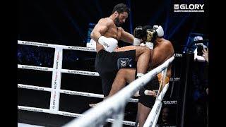GLORY 62: Jamal Ben Saddik vs. Junior Tafa (Tournament Quarter-Final) - Full Fight