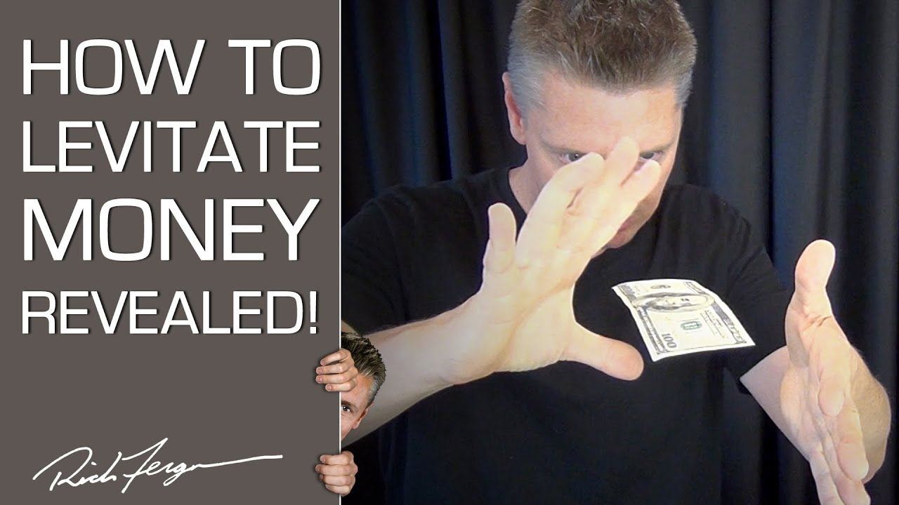 Amazing Easy To Learn Magic Tricks- Floating Bill (with ...