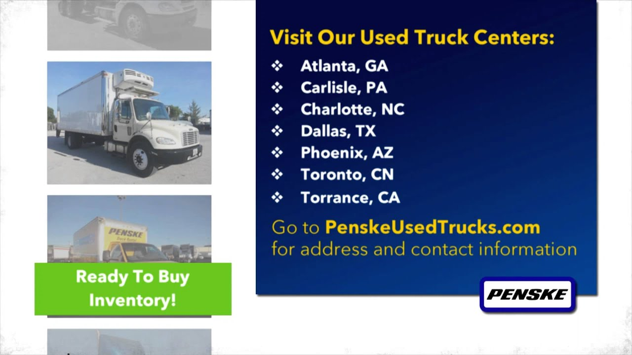 Penske Used Truck Centers Youtube