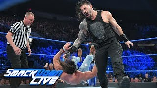 roman reigns vs elias smackdown live may 21 2019