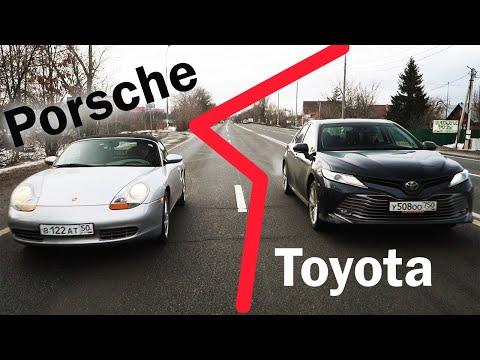 Камри 3,5 против Porsche! ТАРАКАН в КОРОБКЕ - РАЗОБРАЛИ ПОРШЕ!