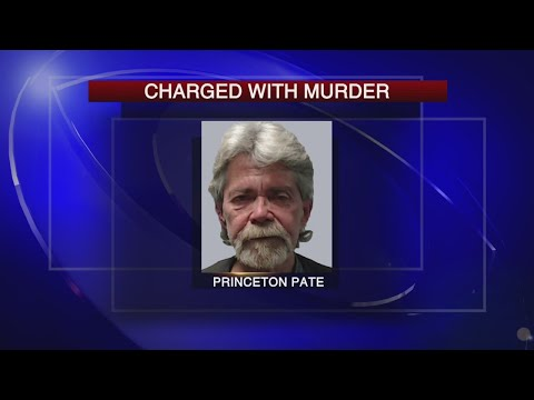 Charged with murder