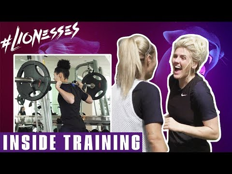 Training With the Lionesses: In the Gym and Shooting Practice | Inside Training