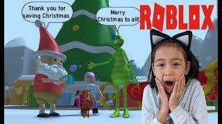 Vamos jogar Roblox-o Obby Grinch!