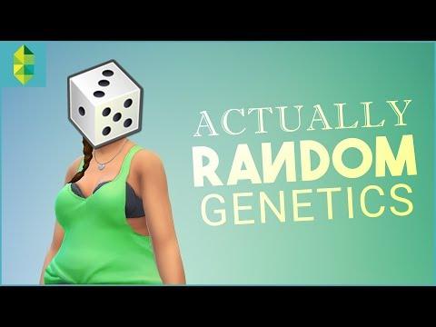 ACTUALLY Random Genetics CHALLENGE (Sims 4)