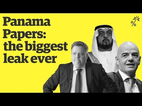 The Panama Papers | What links these people?