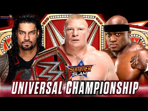 BROCK LESNAR vs ROMAN REIGNS vs BOBBY...