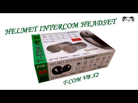 Обзор Intercom T-COM VB X2