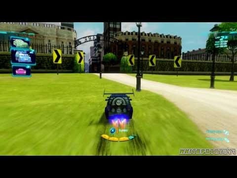 Cars 2: The Video Game | Free Play | DJ - Hyde Tour!