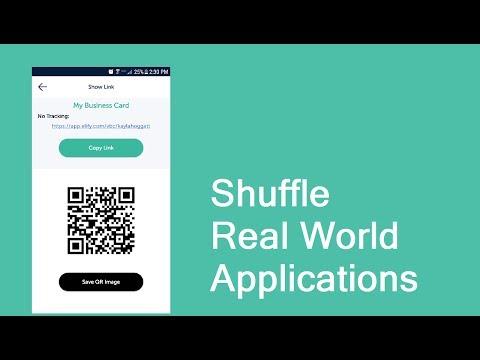 Shuffle Real World Applications