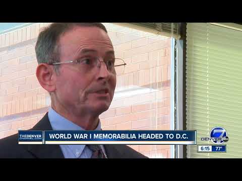 Colorado man donates engraved copy of Treaty of Versailles, other memorabilia to State Department