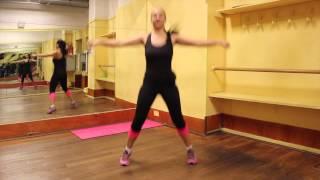 Come fare passi con saltelli apro e chiudo per tonificare i muscoli e dimagrire a casa
