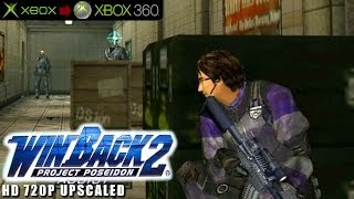 WinBack 2: Project Poseidon - Gameplay Xbox HD 720P (Xbox to Xbox 360)
