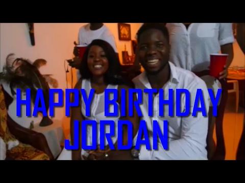 CAMEROON VLOG: JORDAN'S EPIC ALL WHITE BIRTHDAY PARTY