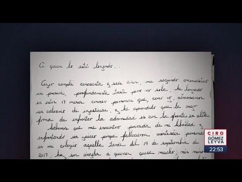 La carta de Miss Moni a la justicia mexicana