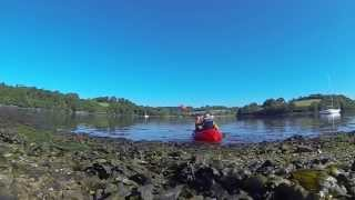 Packrafting the River Fal from Tresillian to Falmouth