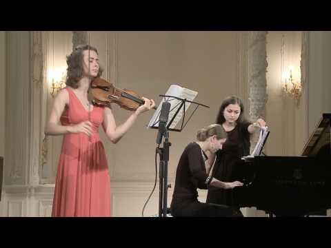 Maryana Osipova (violin) English Hall of St. Petersburg Music House 2013-09-04