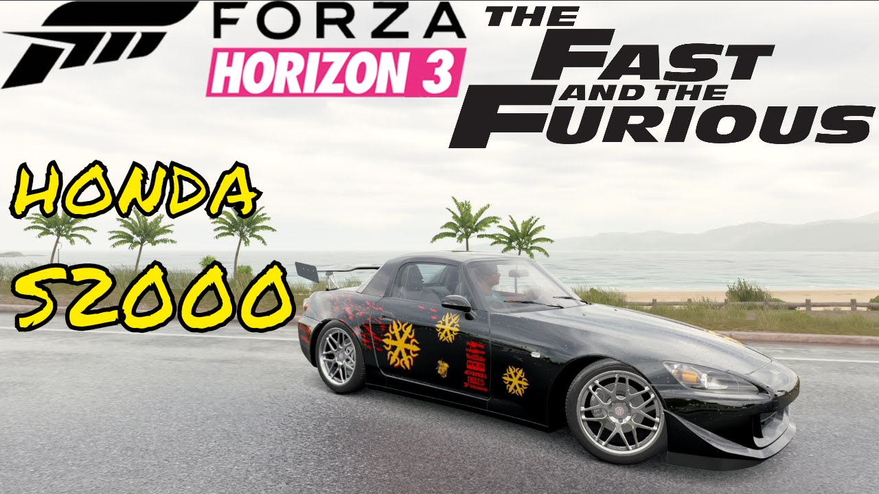 the fast and the furious honda s2000 johnny tran forza. Black Bedroom Furniture Sets. Home Design Ideas