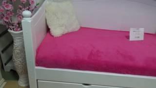 видео Кровати с тремя спинками