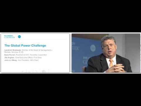 CERAWeek 2014: The Global Power Challenge with Jim Hughes, First Solar