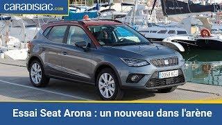 Essai - Seat Arona : un nouveau dans l'arène