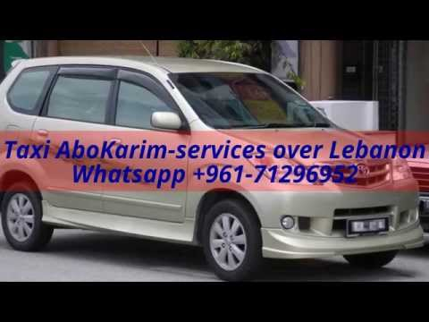 Beirut airport taxi and Cars rental