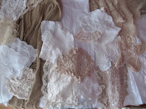Fabric and Doilies Kits for SALE