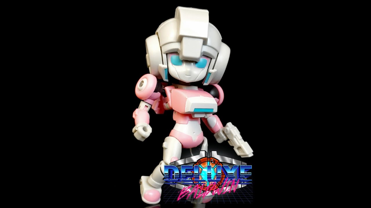 Magic Square Legends Peach Girl Review! (G1 Arcee) In-Hand Review by Deluxe Baldwin