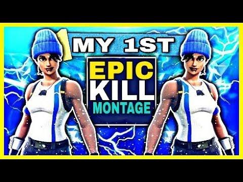 Fortnite - My 1st KILL Montage 🔥🔥(MY BEST EDIT SO FAR)🔥🔥